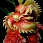 Dragon Watermelon Sculpting
