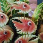 Fish Watermelon Sculpting