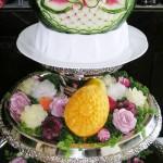 Beautiful Watermelon Sculpture