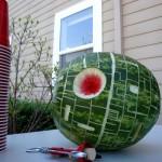 Star Wars Watermelon Sculpture