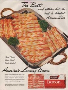 Bacon Vintage Ad