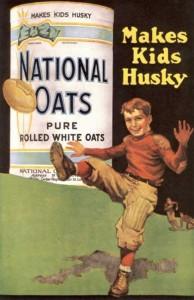 Oatmeal Vintage Ad