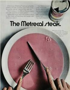 Liquid Steak Vintage Ad