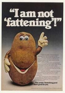 Potato Vintage Ad