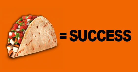 tacos equal success