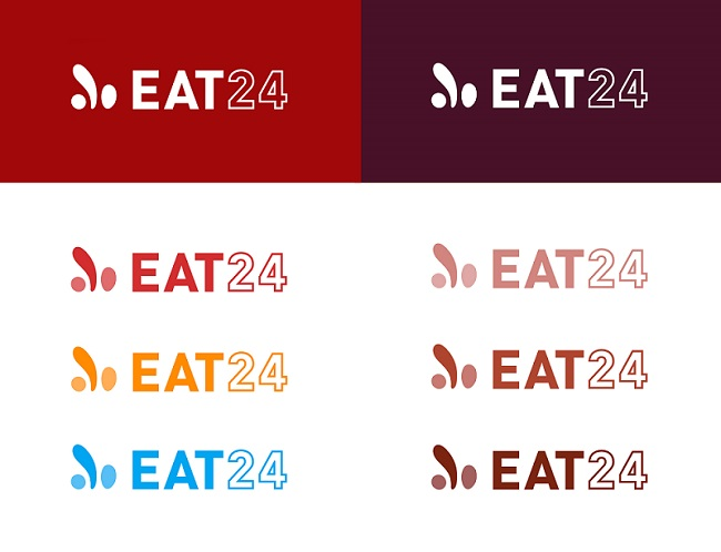 EAT24 new logo color exploration