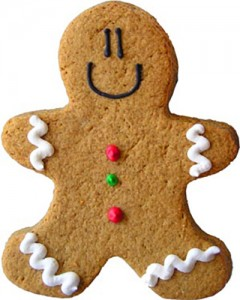 Pic of gingerbread man