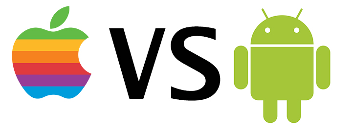an image of both logos for iPhone and Android