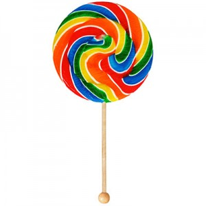Picture of giant lollipop