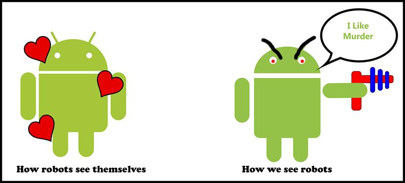robot VS.