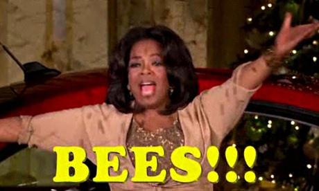 Opra's bees moment