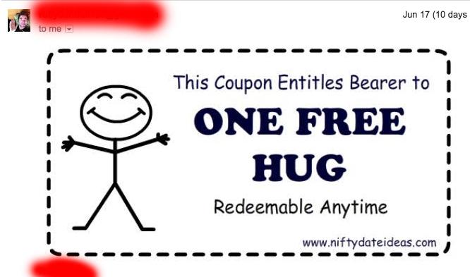 free hug rudy diaz