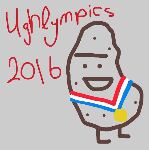 Yelp Eat24 Ughlympic Mascot